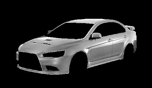 Цвета кузова Lancer X Ralliart