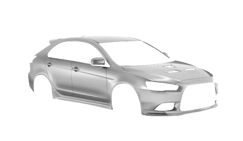 Цвета кузова Lancer X Sportback Ralliart
